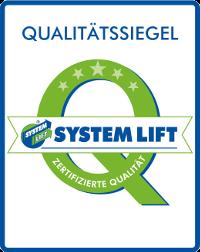 Siegel Systemlift Startseite